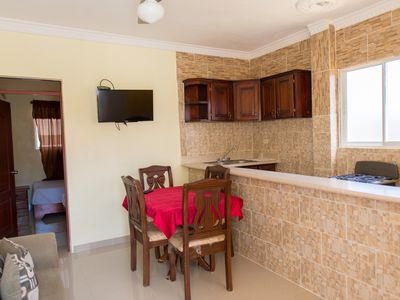 Photo for 1 Bedroom Apartment- 1 Double Bed -Smart TV- Wi-Fi - Visitors are Welcome