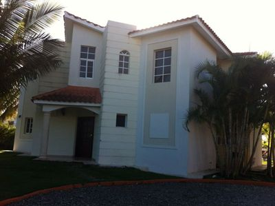 Upscale home in private gated community with ocean views and ample parking
