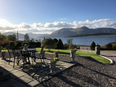 Views from Outlander across the beautiful loch