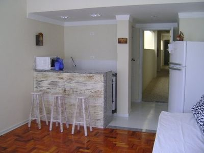 Photo for Kitchenette 70 meters from the beach Pitangueiras