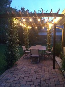 Backyard Patio to entertain or enjoy the beautiful Florida weather!