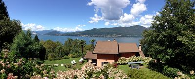 Photo for Magnificent private villa on lakeside of Lago Maggiore