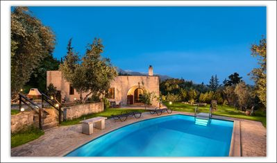 villa aloni traditional stone villa with nice viewpool and garden