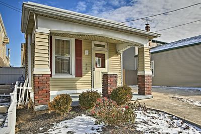 This pristine home is very safe, located in a charming residential neighborhood.