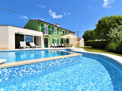 Photo for Traditional villa with private pool and plenty of space for young and old