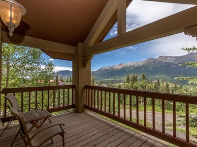 Photo for NOW AVAILABLE FOR BLUEGRASS! - Enjoy Endless Views in This Luxury Mountain Village Residence