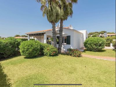 Photo for BiniNuria - Villa with private pool a few meters from the sea.