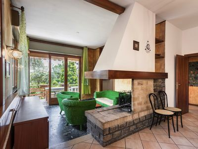 Photo for Spacious, with garden and very close to the lake - Casa del Capitano piano terra