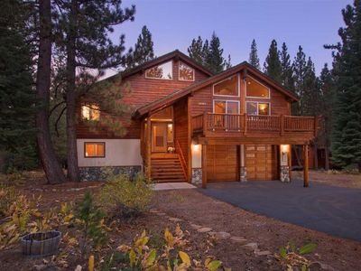 Photo for Awesome 7 Bedroom Luxury Rental in Tahoe Donner w/Hot Tub, Huge Deck, Sun & Fun!