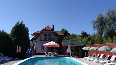 Holiday house Balatonmáriafürdõ for 1 - 8 persons with 3 bedrooms - Holiday house
