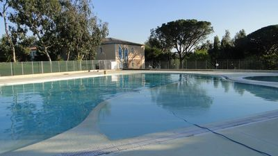 Photo for St Tropez T2 apartment with pool