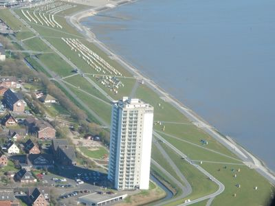 Photo for Apartment with stunning views over the North Sea and Wadden Sea.