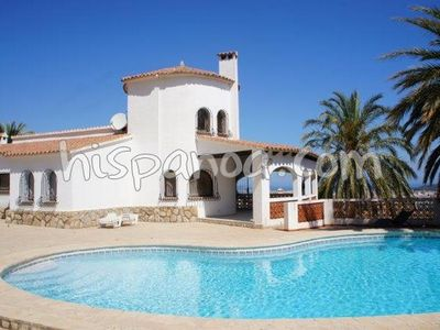 Photo for Large villa for 10 in Denia with sea view