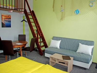 Photo for 14: 46 m², 1-room, 4 persons, terrace, WL - F-1102 The holiday home on the Baltic Sea beach