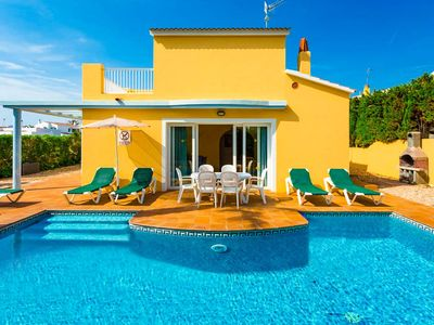 Photo for Villa Marina Blanca: Large Private Pool, Walk to Beach, A/C, WiFi, Car Not Required