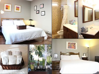 Photo for 2( two) bedrooms private bathroom Free WiFi parking in Chino near shopping mall