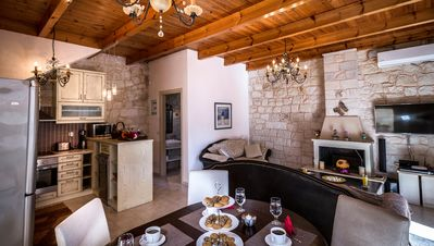 Photo for Villa Christy 150 meters from the beach with private pool and fireplace