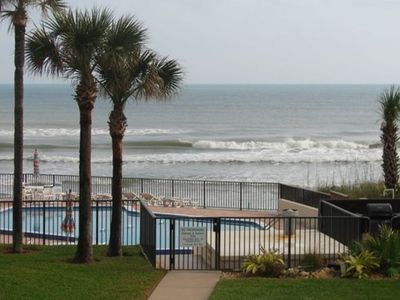 View from the Balcony! - New Smyrna Beach