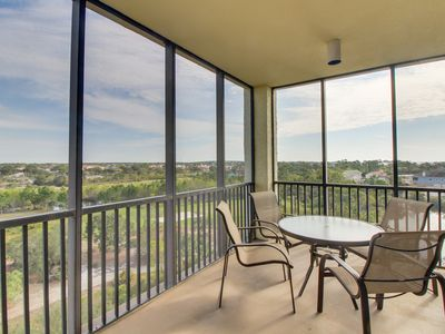 Photo for NEW LISTING! Elegant condo w/ shared tennis, pool, hot tub, & golf course views