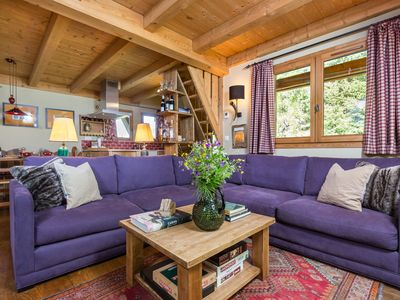 Photo for Superb Le Buet Chalet, nr skiing, Chamonix, Argentiere, Les Houches, Vallorcine