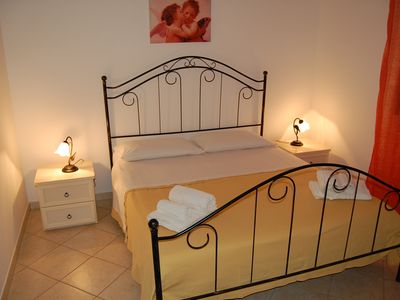 Photo for Nice apartment with garden 10-15 minutes walk from the beach