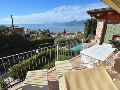 Photo for Apartment Bardino with Pool and Lake View