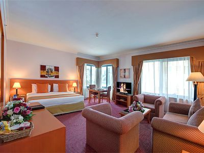 Photo for 4 star hotel room at deira dubai (3 km from Dubai int. airport)