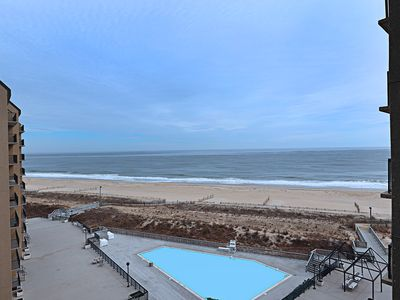 Photo for I711: 3BR Sea Colony oceanfront condo! Private beach, pools, tennis ...