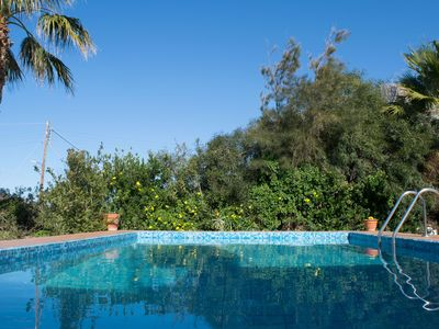 Photo for VACATION HOUSE IN CHANIA FELIA2 200M FROM THE SANDY BEACH  WITH  POOL