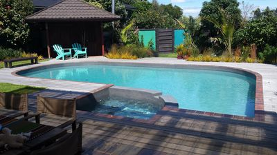Photo for Family beach house with pool