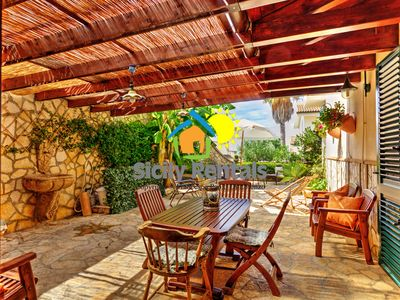 Photo for Beautiful house a few steps from the seafront of Seccagrande