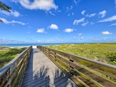 Photo for Lovely 2 BR in the center of seaside beach town on Beach Trail & Waterfront Park