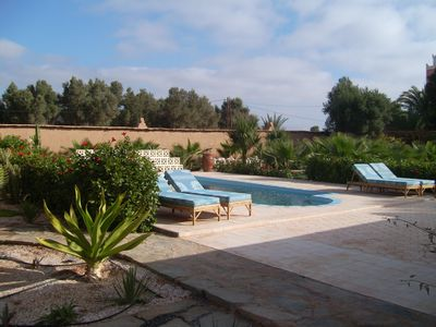 Photo for Charming riad for rent in a palm grove near the desert