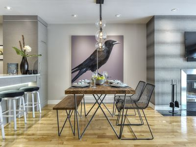 Photo for LUXURIOUS, STYLISH, MODERN CONDO LOCATED IN THE HEART OF MONTREAL VILLAGE!!!!