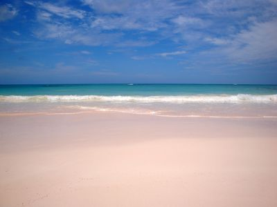 Helios House private Pink Sand Beach