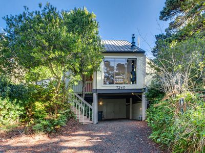 Photo for NEW LISTING! Dog-friendly home w/entertainment in secluded setting near beach