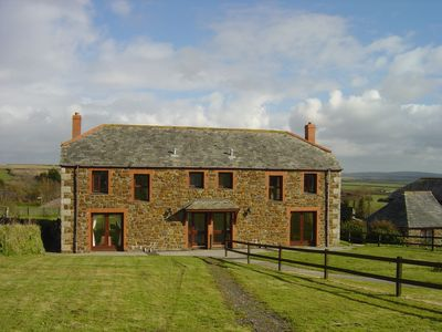 Photo for 10 Treglyn - wonderful countryside with lovely views just 2 miles from Rock