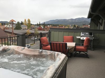 Photo for Luxurious New Build in the heart of Downtown Whitefish! Private Hot Tub!