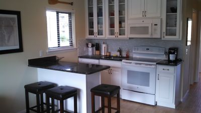 Photo for Adorably furnished and renovated Ocean Villa condo with upgrades galore!