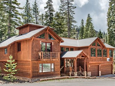 Photo for Extravagant Mountain Lodge at Heavenly with Hot Tub & Sauna - Walk to Lifts!