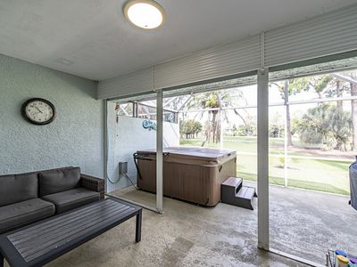Photo for Naples, FL Villa on golf course with hot tub and office, 10 min. from beach.