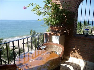 Photo for Oceanfront Condo on Los Muertos Beach in Old Town P.V.