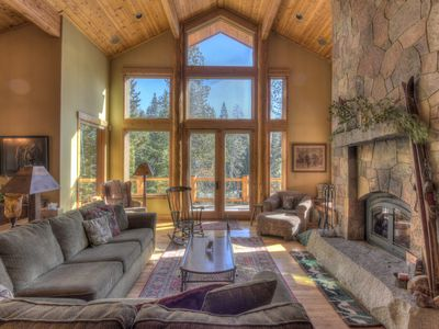 Photo for Luxury Home with Olympic Valley Views and Hot Tub, Game Room, Pet Friendly