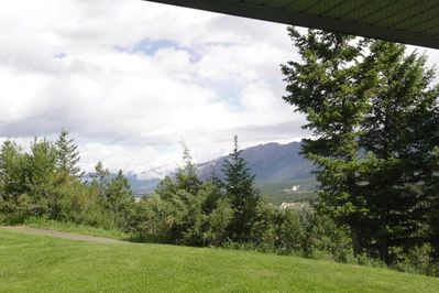 The Radium Hot Springs are a 7-minute drive from your door!