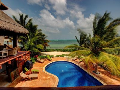 Photo for Casa Bella - One of a kind.  PRIVATE Ocean front Property.