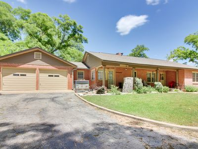 Photo for Charming, dog-friendly home with patio & gas grill - close to town!