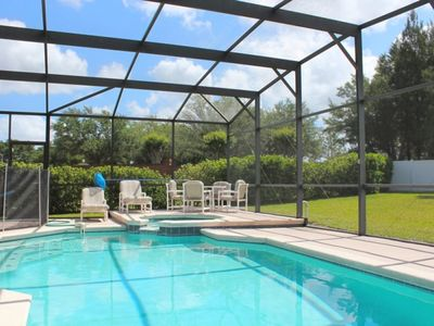 Photo for Beautiful Pool Deck and Back Yard
