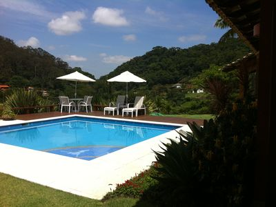 Photo for Beautiful house! Stunning view! Pool, Jacuzzi, Laguinho and more!