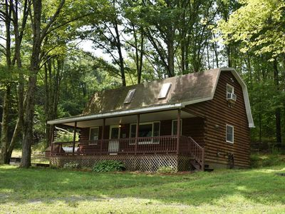 If you love the quiet outdoors and love the nature you will love this cabin.