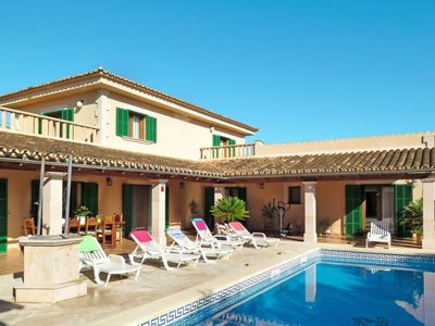 Photo for One bedroom Villa, sleeps 6 in Cala Murada with Pool, Air Con and WiFi